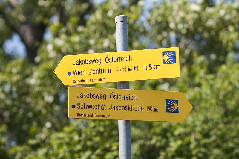 Pilgern In Osterreich Jakobsweg Wien